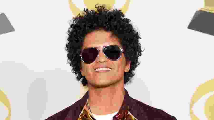 Bruno Mars teve seis prêmio na 60ª edição do Grammy, em 2018 - Getty Images