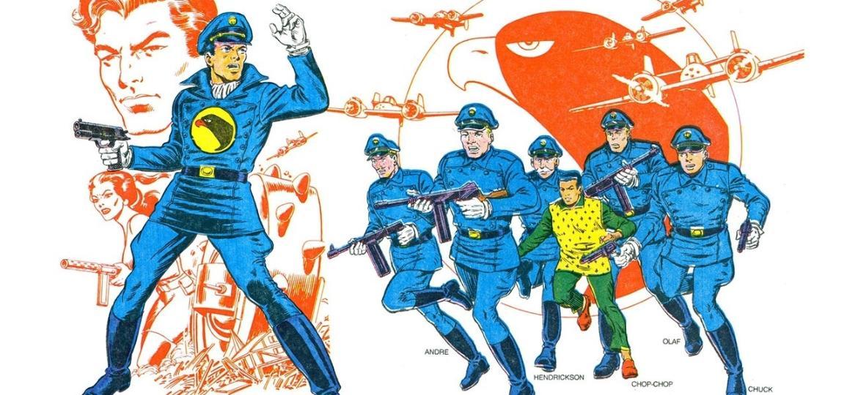 Falcão Negro e sua esquadra formada por pilotos habilidosos - Divulgação