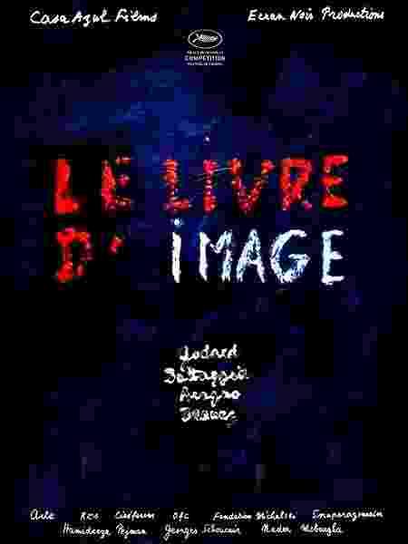 """Pôster do filme """"Le livre d'image"""" (2018), de Jean Luc-Godard - Reprodução - Reprodução"""