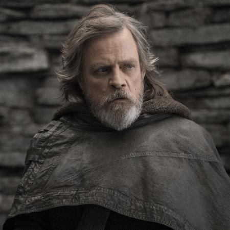 """Mark Hamill em """"Star Wars: Os Últimos Jedi"""" - Reprodução"""