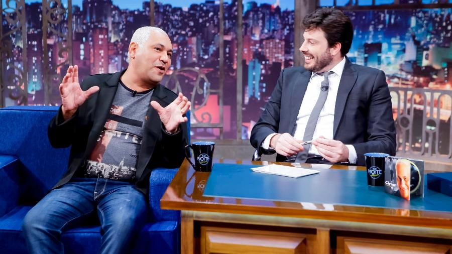 "Chrigor no ""The Noite"" - Gabriel Cardoso/SBT"
