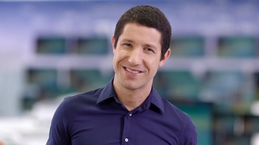 O ator e garoto-propaganda Fabiano Augusto - Reprodução/YouTube