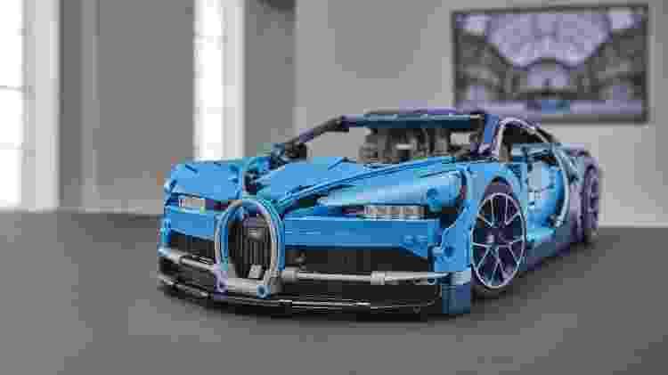 Bugatti Chiron de Lego deu origem a um modelo em tamanho real - Divulgação