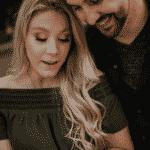 Este casal decidiu fazer seu ensaio de noivado com a participação especial de nuggets - Katie Marie Photography/Reprodução