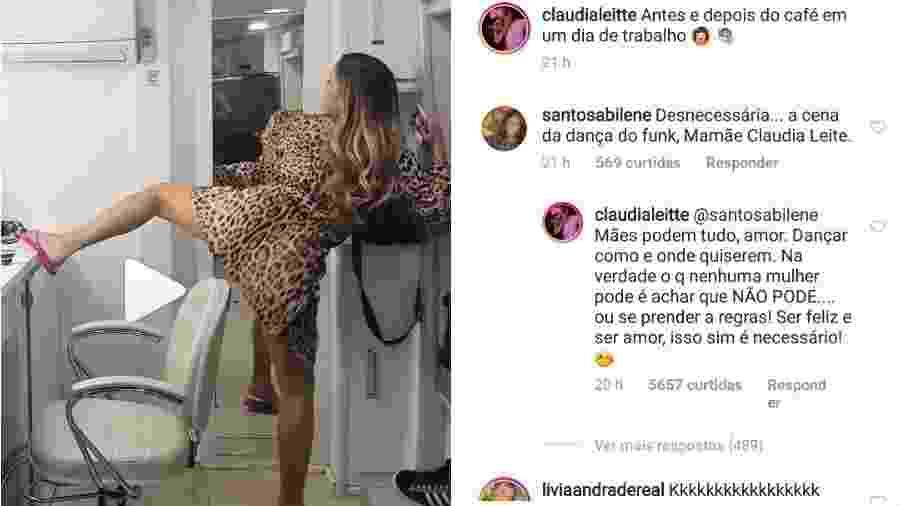 Claudia Leitte responde à crítica de seguidora - Reprodução/Instagram