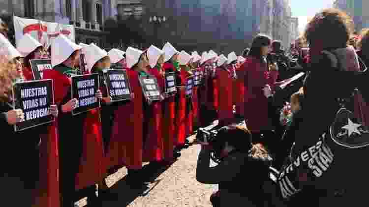 Às vésperas de votação no Senado, Argentina se divide em relação a aborto - Monica Yanakiew/Agência Brasil - Monica Yanakiew/Agência Brasil
