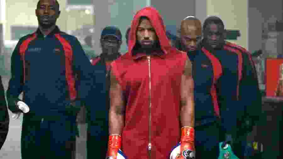 """Adonis Creed (Michael B. Jordan) em cena de """"Creed 2"""" - Divulgação"""