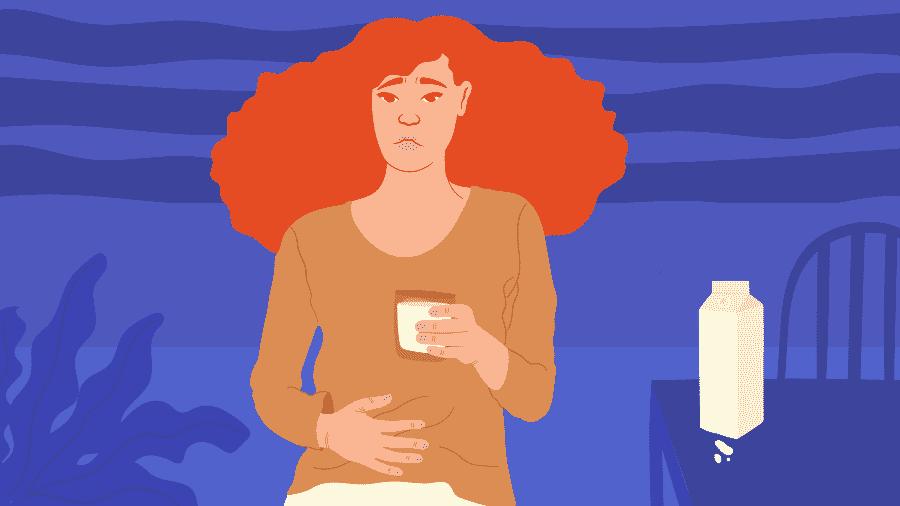 Intolerância à lactose atinge quase 70% da população e pode causar gases em excesso, dor abdominal e diarreia - Camila Rosa/VivaBem