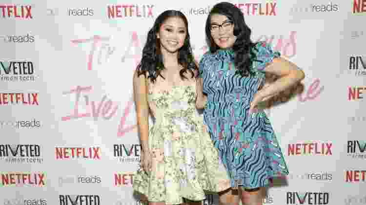Lana Condor e Jenny Han - Monica Schipper/Getty Images for Netflix - Monica Schipper/Getty Images for Netflix
