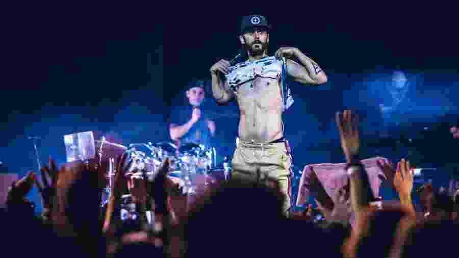 Jared Leto em show do Thirty Seconds to Mars - Stephan Solon/Divulgação
