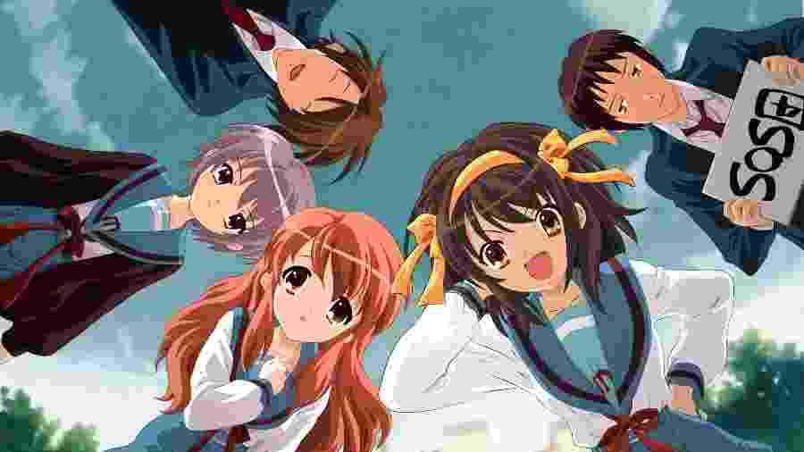 "O anime ""The Melancholy of Haruhi Suzumiya"" - Divulgação"
