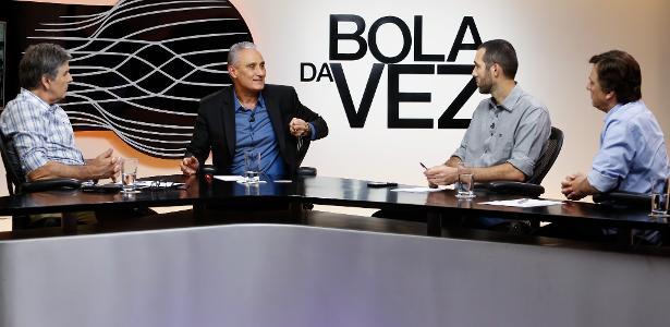 ESPN. Tite e os jornalistas João Carlos Albuquerque 9f92f8d593e1f