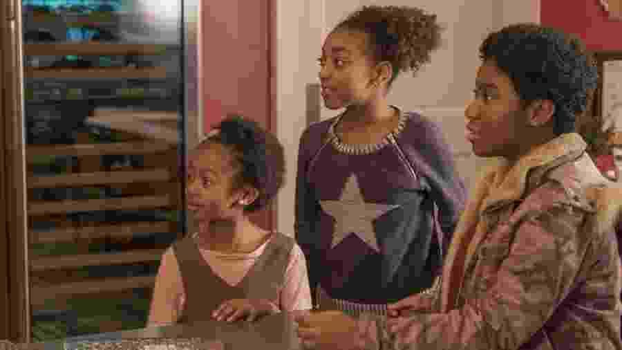 """Da esquerda para a direita: Annie, Tess e Deja em """"This is Us"""" - Divulgação"""