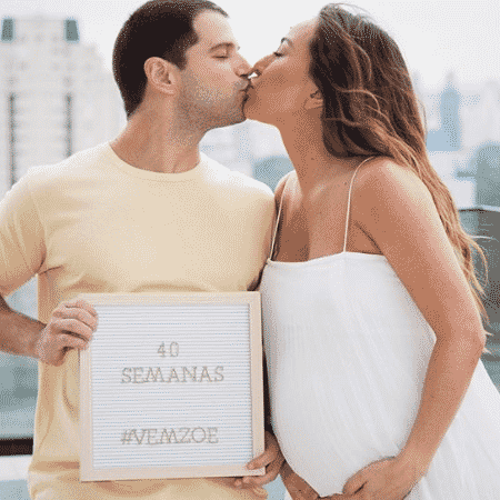 Duda Nagle e Sabrina Sato: expectativa pelo nascimento da filha - Reprodução/Instagram - Reprodução/Instagram