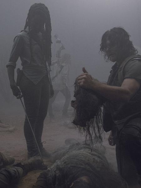 """Cena do oitavo episódio da nona temporada de """"The Walking Dead"""" - Divulgação"""