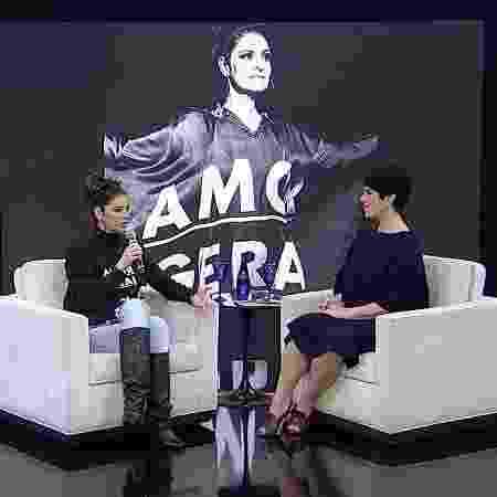 Fernanda Abreu - Divulgação/Rede TV! - Divulgação/Rede TV!
