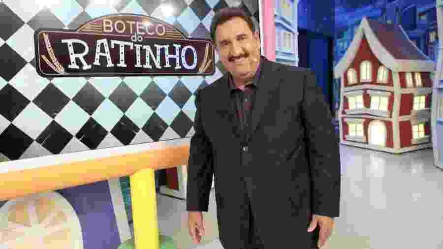 """Ratinho prepara """"banho de loja"""" no seu programa do SBT - Lourival Ribeiro/SBT"""