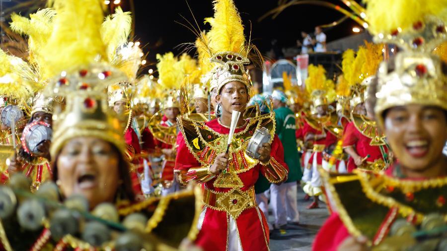 Desfile da Gigante do Samba, em 2018 - Leo Motta/PCR