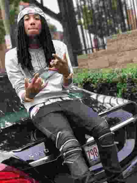 O rapper AAB Hellanbandz - Reprodução