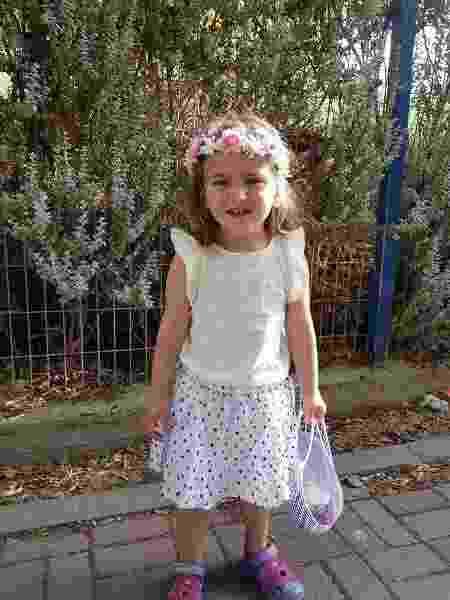 Shira, filha de Lia Malka - Reprodução/Facebook