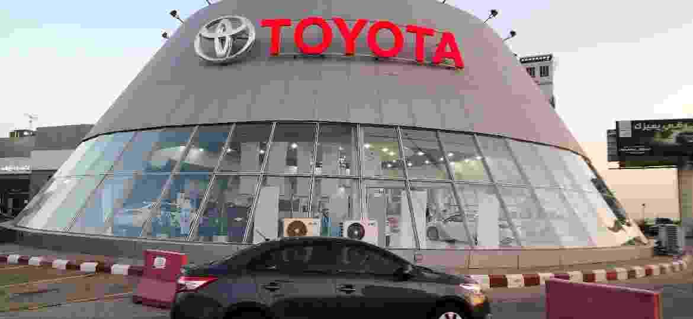 Revendedora da Toyota em Dhahran, na Arábia Saudita - Hamad I Mohammed/Reuters