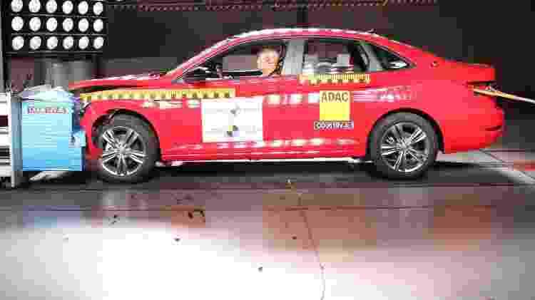 Latin NCAP crash-test Volkswagen Jetta - Divulgação - Divulgação
