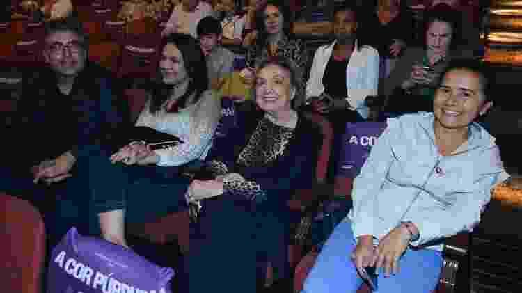 Eva Wilma pronta para assistir à estreia de A Cor Púrpura - Francisco Cepeda/AgNews