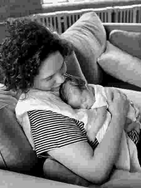 Cecilia Malan e a filha, Olimpia - Reprodução/ Instagram