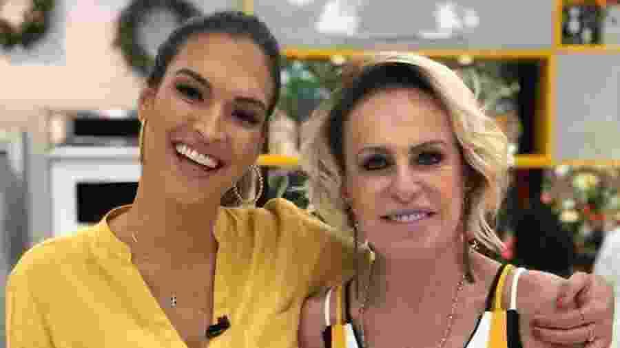 """Talitha Morete e Ana Maria Braga no """"Mais Você"""" - Instagram/Reprodução"""