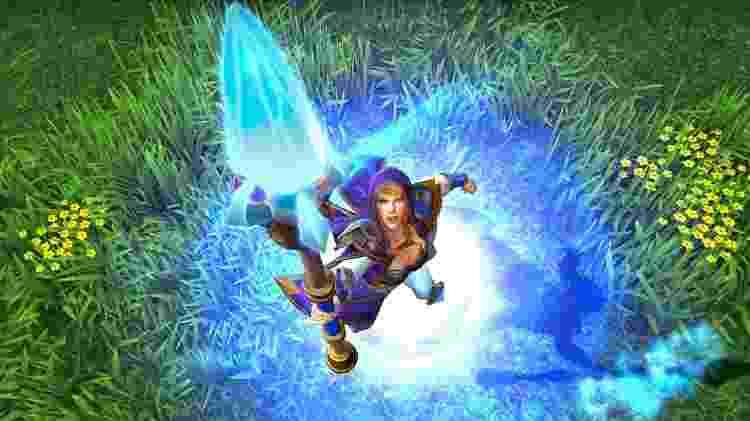 Warcraft Mage - Reprodução - Reprodução