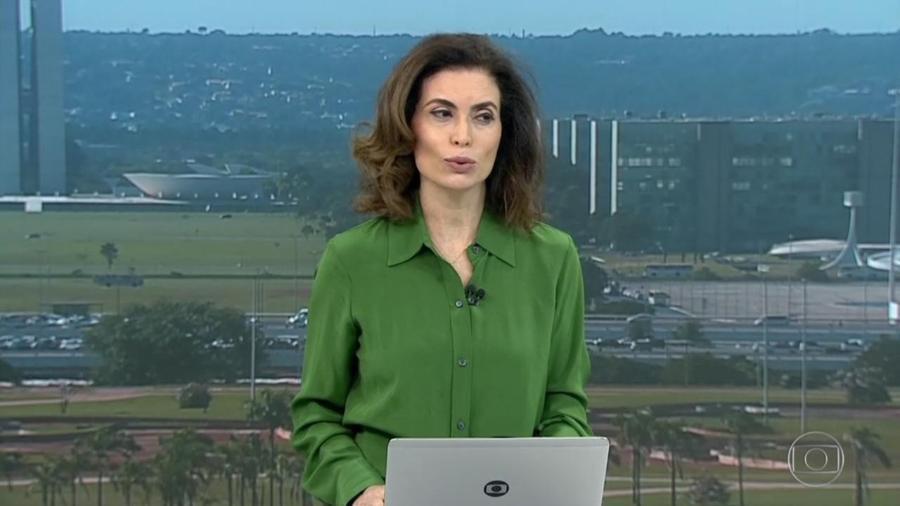 Giuliana Morrone deixa o noticiário política do Bom Dia Brasil da TV Globo - Reprodução/TV Globo