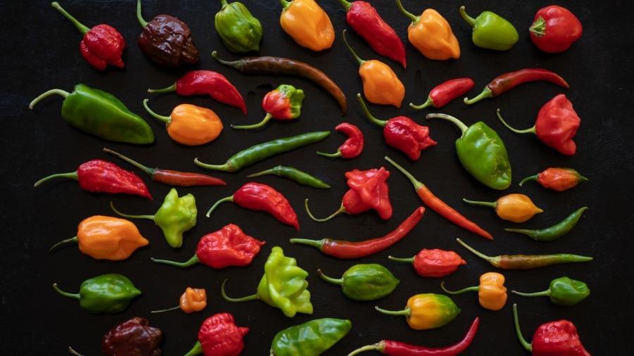 Existem diversos tipos de pimentas, mas os benefícios são semelhantes entre elas - iStock