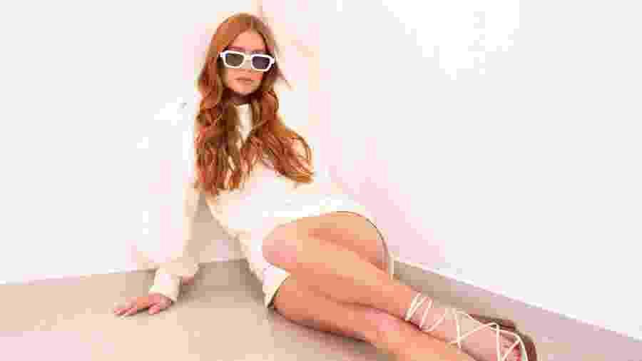 Marina Ruy Barbosa posa para sua marca de roupa, Ginger - Divulgação
