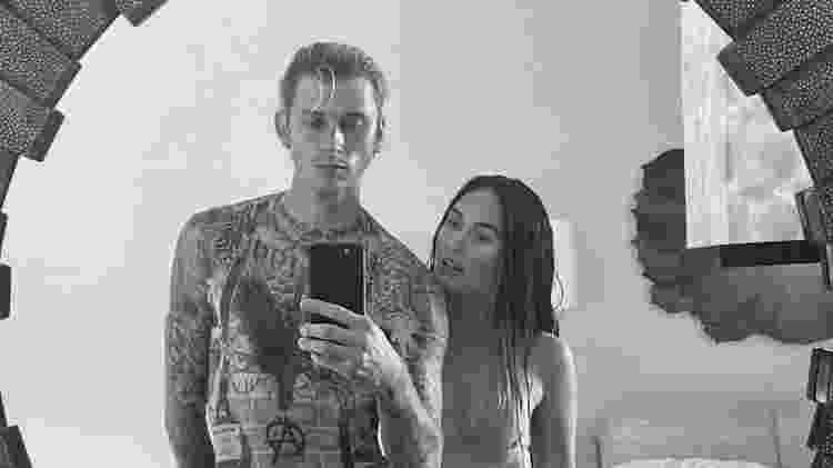Megan Fox e Machine Gun Kelly - Reprodução/Instagram - Reprodução/Instagram