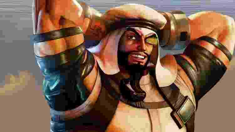 Rashid Street Fighter V - Divulgação/ManualDosGames - Divulgação/ManualDosGames