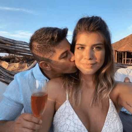 Darío Conca e Miriã Rocha ficaram juntos por pouco mais de um ano - Reprodução / Instagram