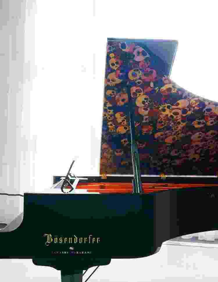 Piano de Drake - Reprodução/Architectural Digest - Reprodução/Architectural Digest