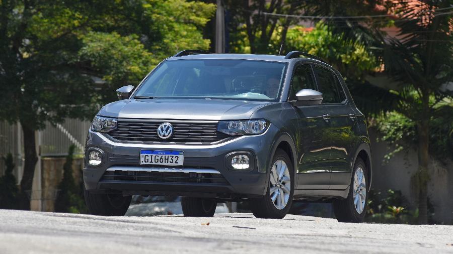 VW T-Cross 200 TSI sai por R$ 102 mil para clientes PCD, incluindo isenção de IPI e bônus de fábrica - Murilo Góes/UOL