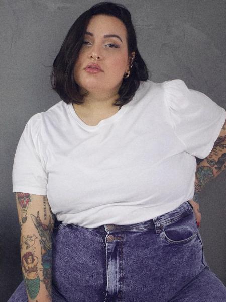 A modelo e influenciadora Jessica Lopes criou um programa de consultoria de imagem para mulheres gordas - Reprodução/Instagram
