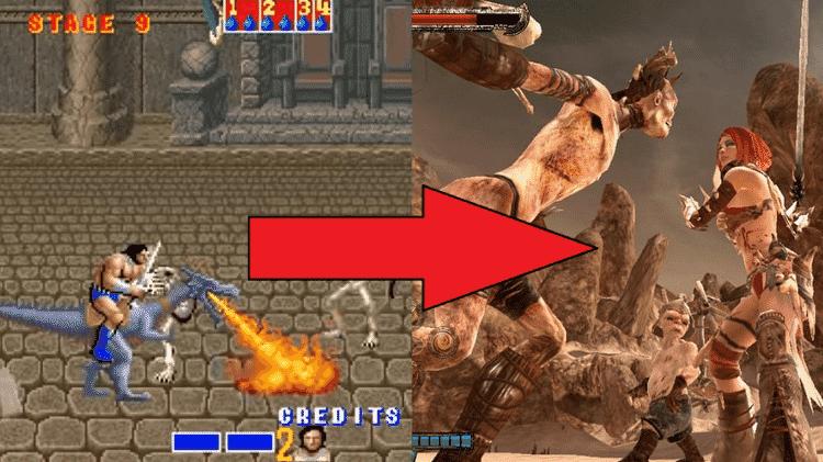 Golden Axe - Reprodução (Sega) - Reprodução (Sega)