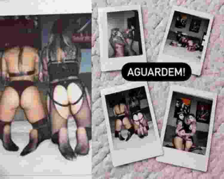 Ex-BBBs Clara Aguilar e Vanessa Mesquita protagonizam ensaio erótico - Reprodução Instagram - Reprodução Instagram