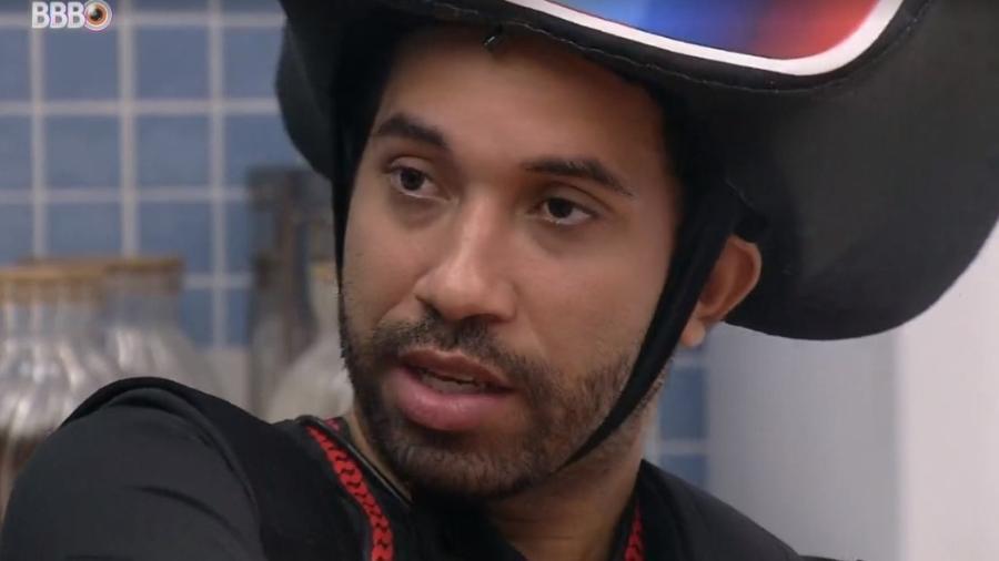 BBB 21: Gilberto elogia postura de Viih Tube - Reprodução/ Globoplay