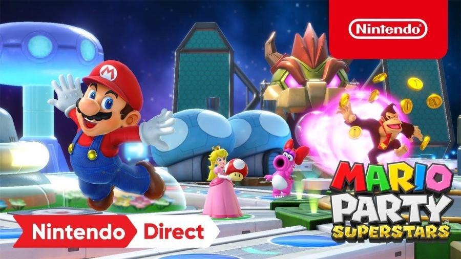 Mario Party Superstars - Divulgação/Nintendo