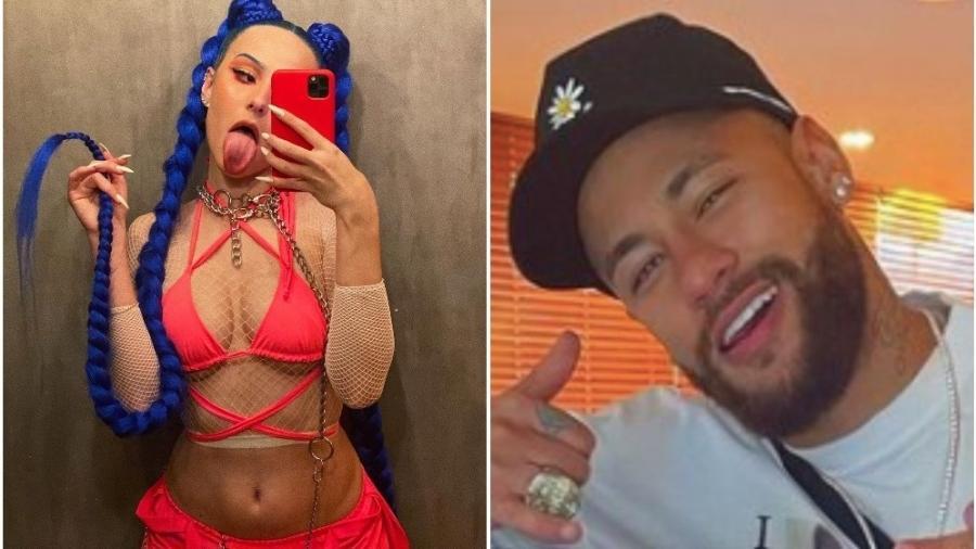 Belle Kaffer admitiu affair com Neymar - Reprodução: Instagram