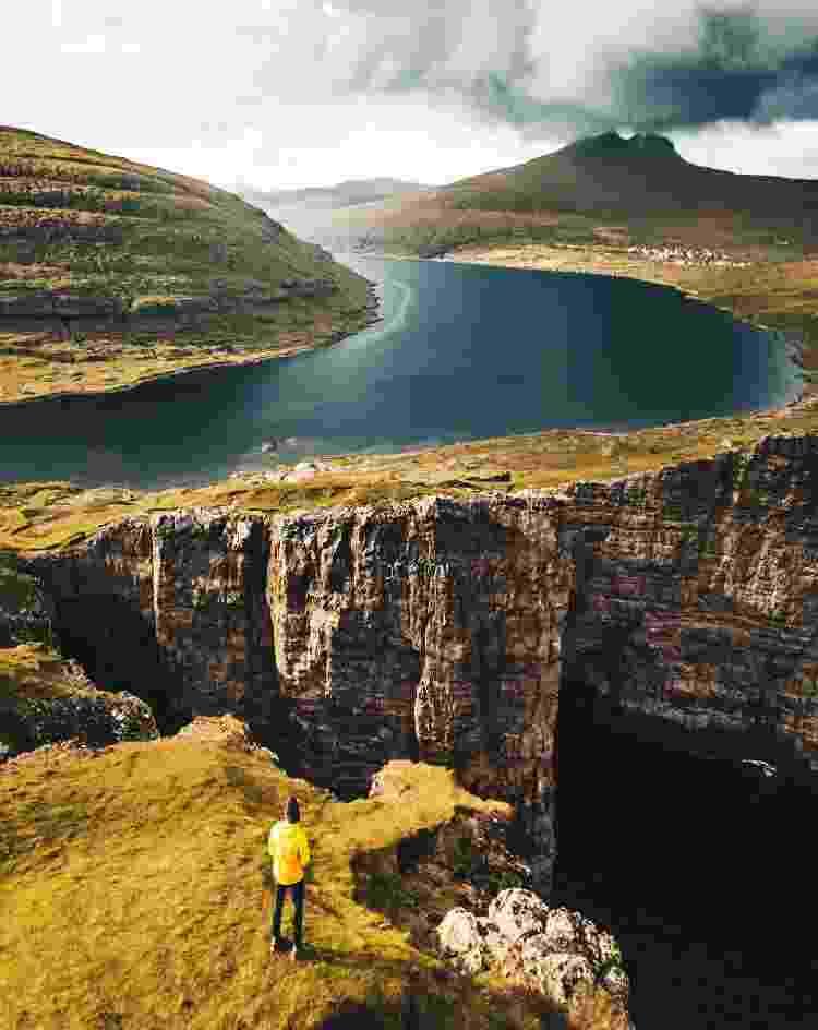 Trilhas, isolamento e paisagens naturais: Faroé reúne as características do turismo que cresceu na pandemia - Getty Images - Getty Images