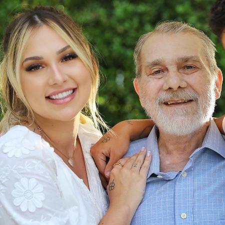 Virgínia Fonseca com o pai Mário Serrão - Reprodução/Instagram