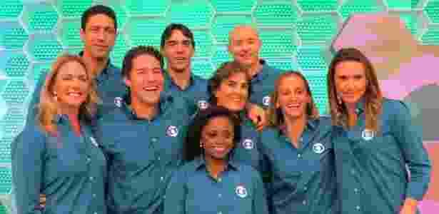 Comentaristas da Globo para a Olimpíada do Rio - Daniel Cardoso/Globo - Daniel Cardoso/Globo