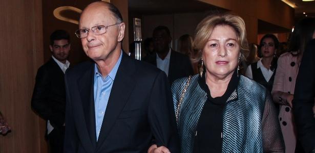 O bispo Edir Macedo e sua mulher, Ester - Manuela Scarpa/Brazil News