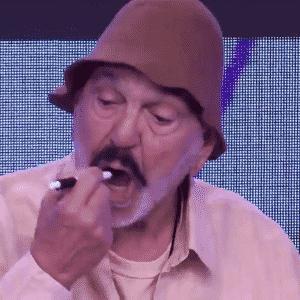 """2.jul.20016 - Alguns atores da Globo relembraram personagens de sucesso durante o chamado """"mesão da esperança"""" na campanha """"Criança Esperança"""", na tarde deste sábado (2) - Reprodução/TV Globo"""