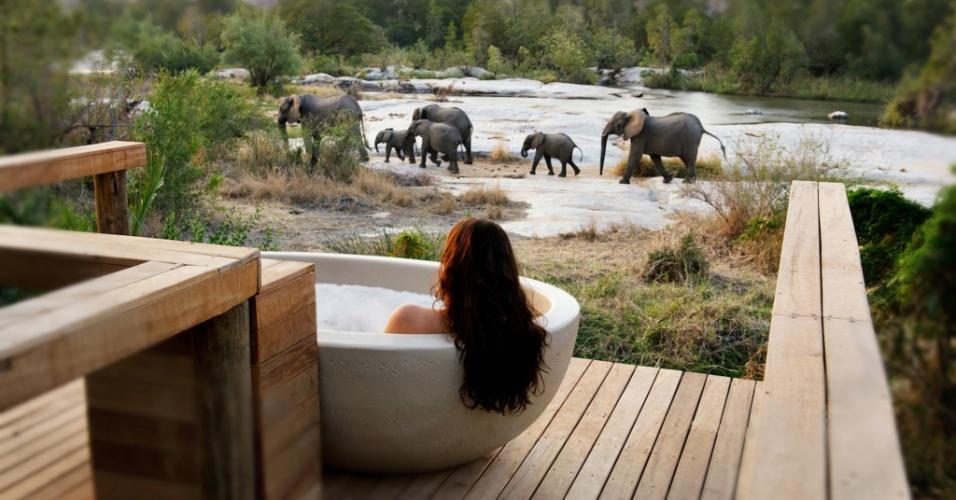 Londolozi Game Reserve, na África do Sul